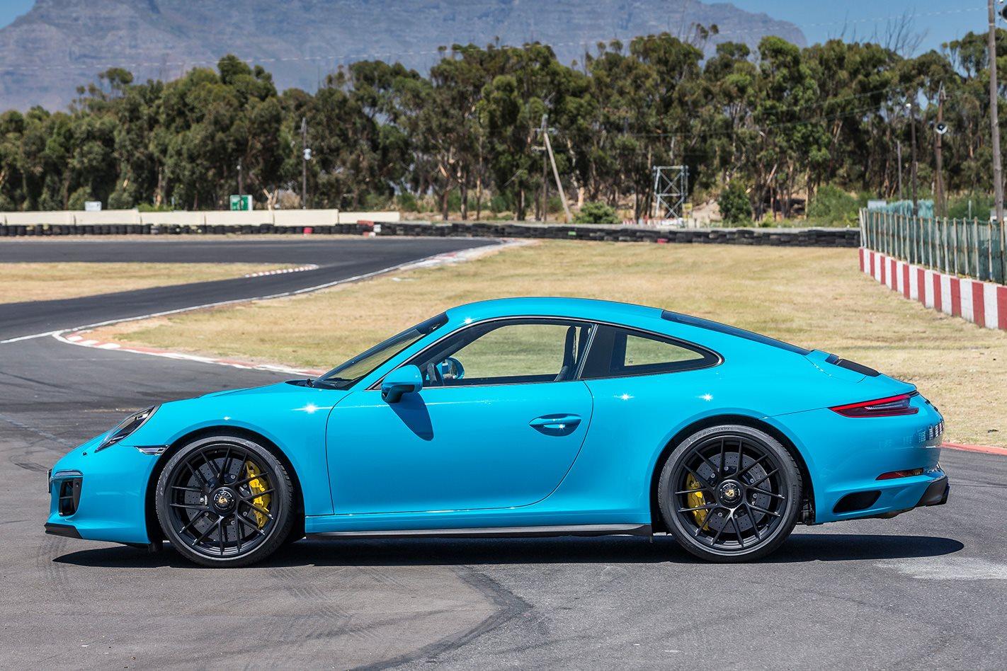 2017 Porsche 911 GTS side