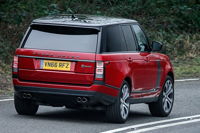 2017 Range Rover SVA Dynamic rear