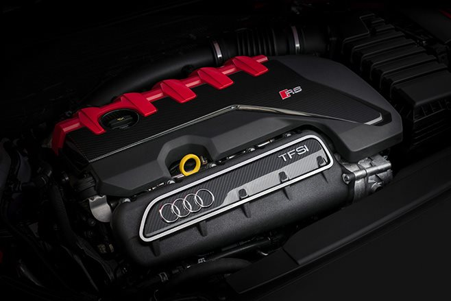 2017 Audi RS3 sedan engine