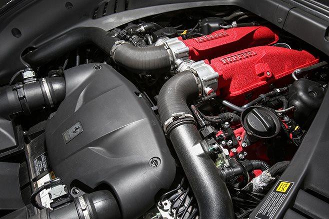 2017 Ferrari California T HS engine
