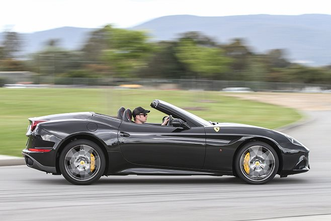 2017 Ferrari California T HS side