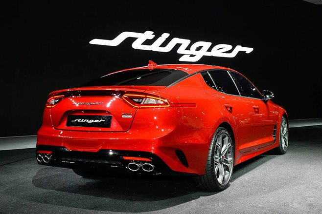 Kia Stinger GT rear