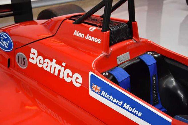 Beatrice Haas F1 cars 2