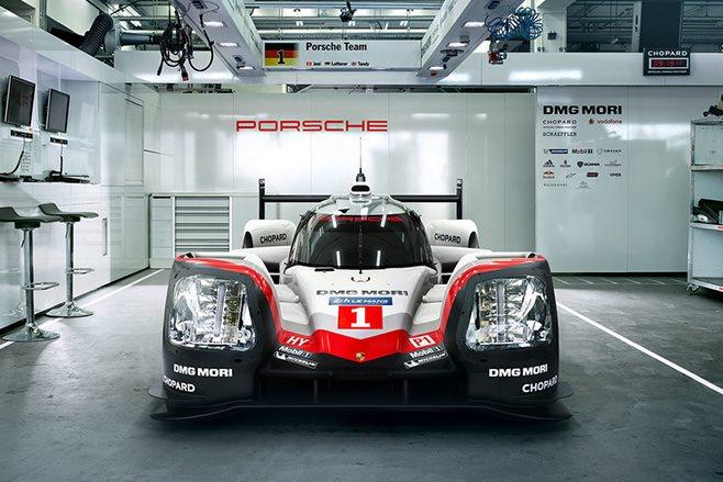 2017 Porsche 919 Hybrid front