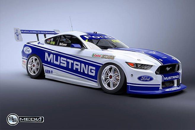 Mazda 3 2017 Custom >> Ford Mustang on the Supercars menu