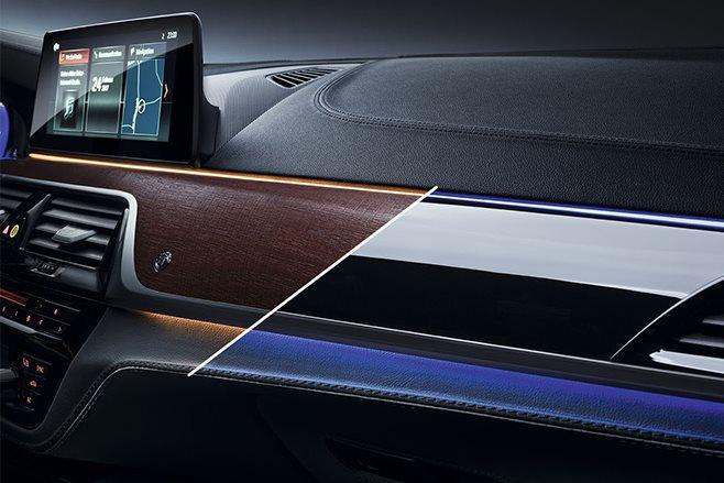 2017 Alpina B5 interior dash options