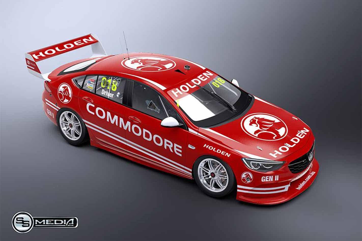 2018 Holden Commodore Supercar