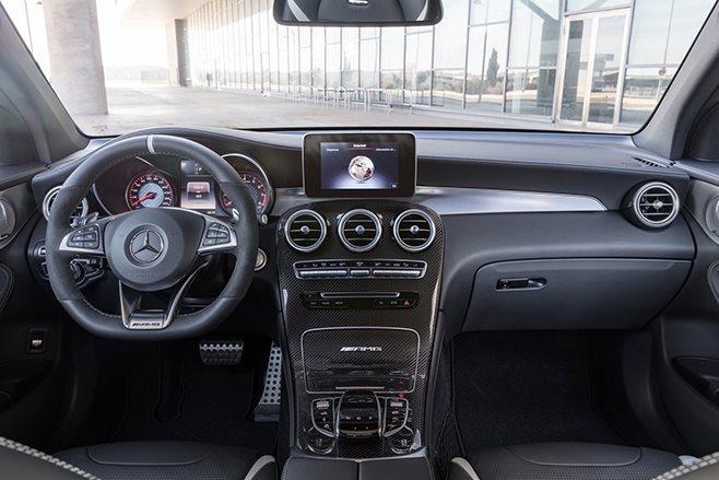 2017 Mercedes-Benz-GLC63 interior