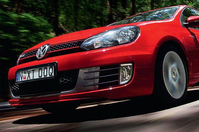 Volkswagen Golf Mk VI GTI front