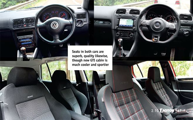 volkswagen golf mk iv gti vs mk vi gti comparison review. Black Bedroom Furniture Sets. Home Design Ideas