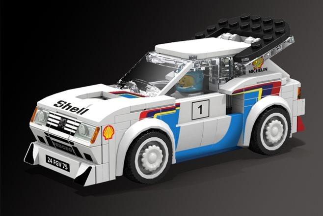Lego peugeot 205 T16 Evo2