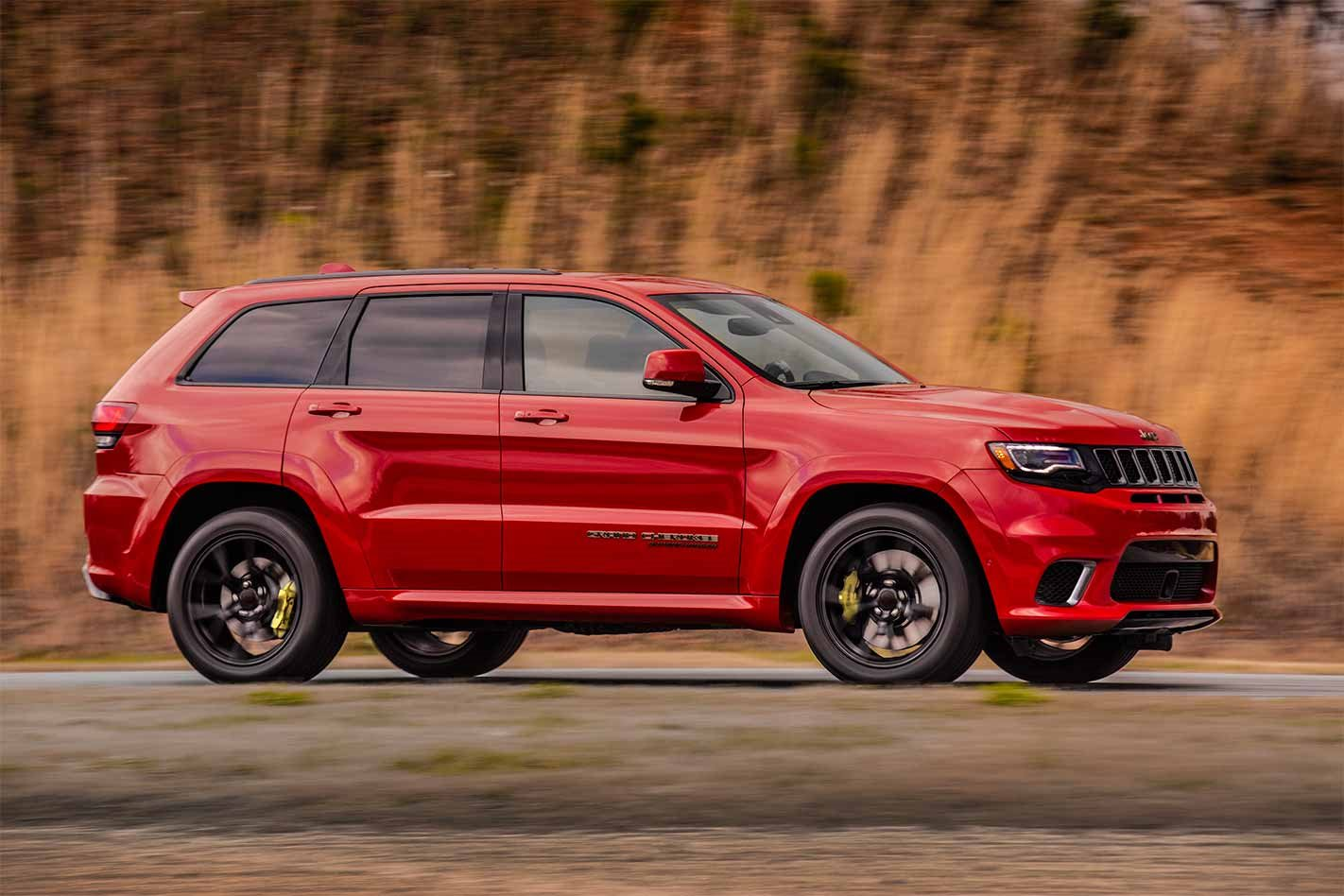 SUV Powered by 707-Horsepower Hellcat Engine