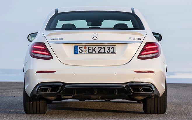 Mercedes-AMG E63 rear