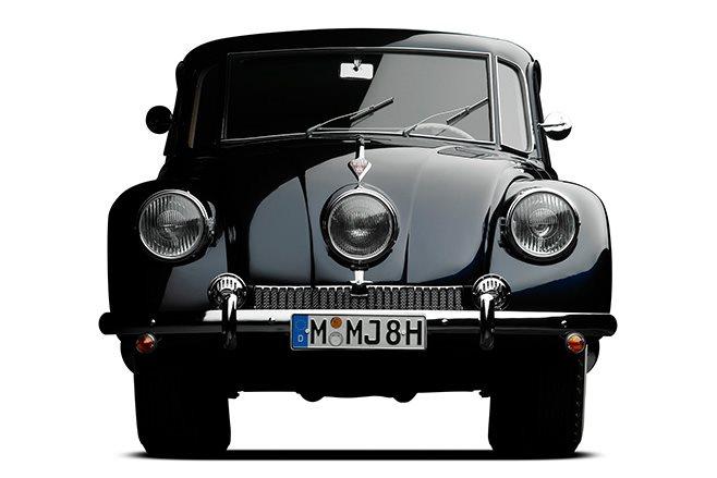 Tatra T87 front