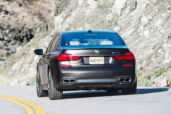 2017-BMW-M760Li rear