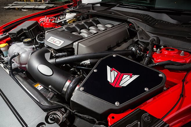 2017-Tickford-Ford-Mustang-GT engine