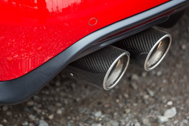 2017-Tickford-Ford-Mustang-GT exhaust