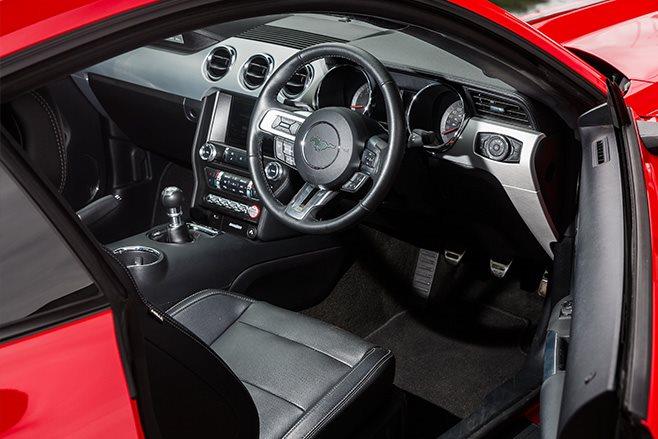 2017-Tickford-Ford-Mustang-GT interior