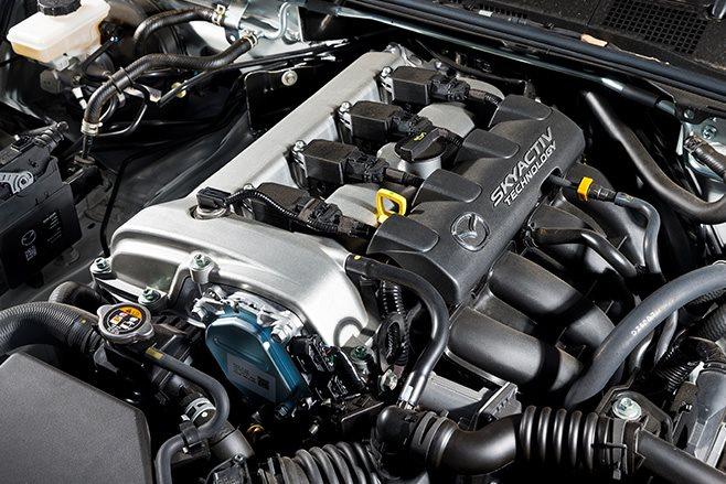 mazda mx-5 engine
