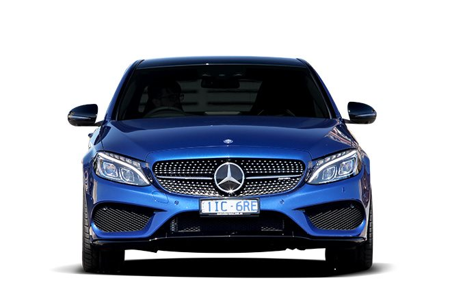 2017 Mercedes-AMG C43 front