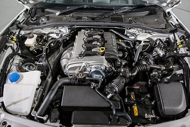 2016 Mazda MX-5 engine