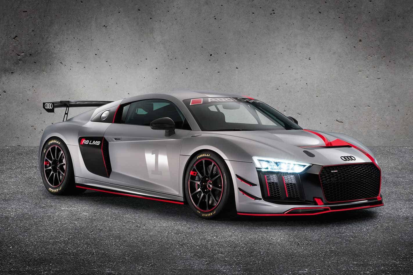 2018 Audi R8 LMS GT4 front