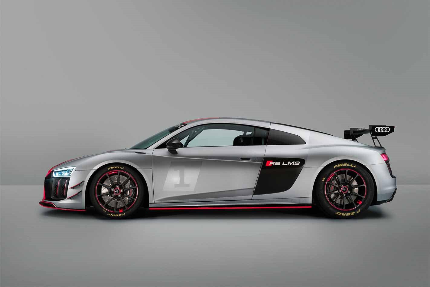 2018 Audi R8 LMS GT4 profile
