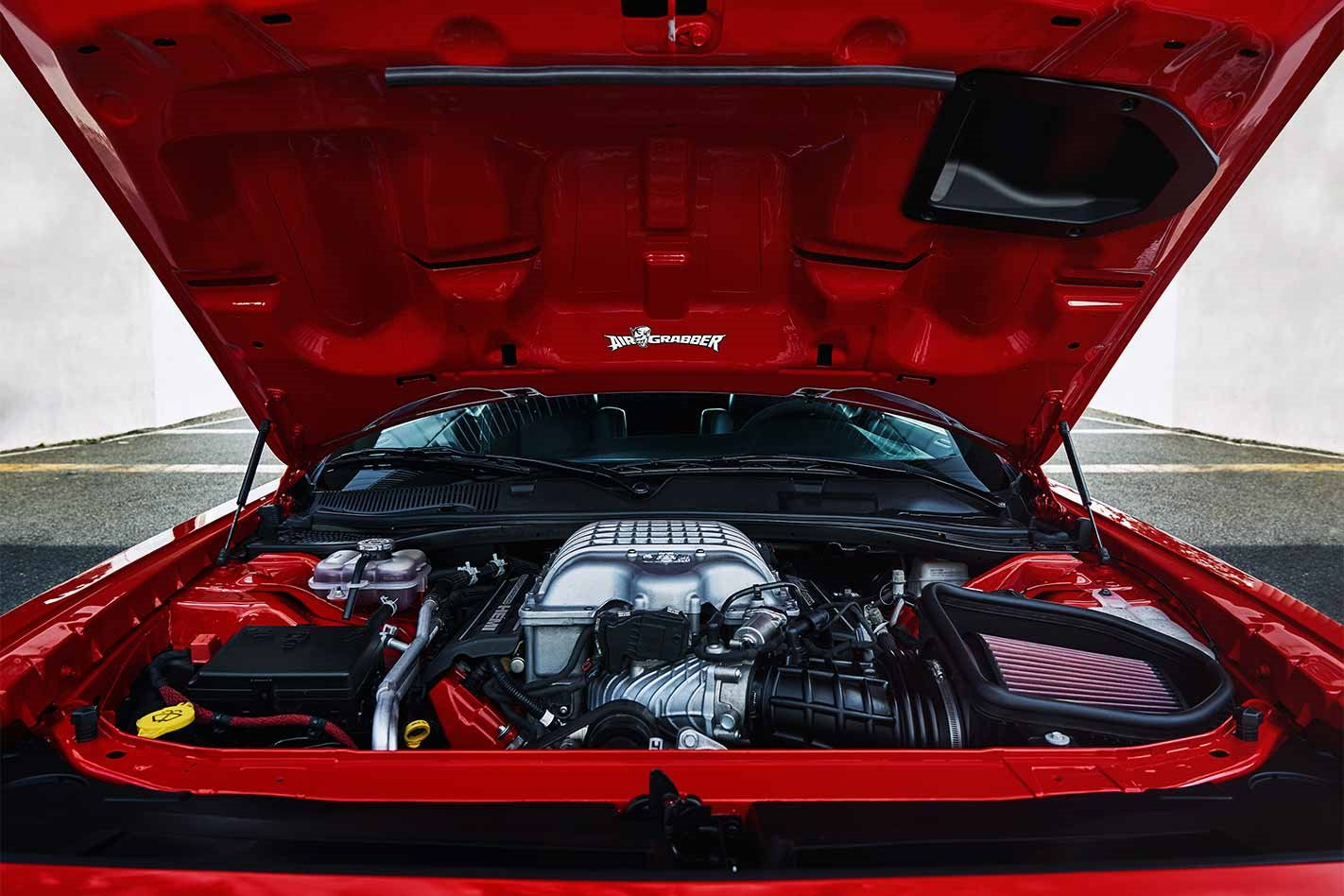 2018 Dodge Challenger SRT Demon engine