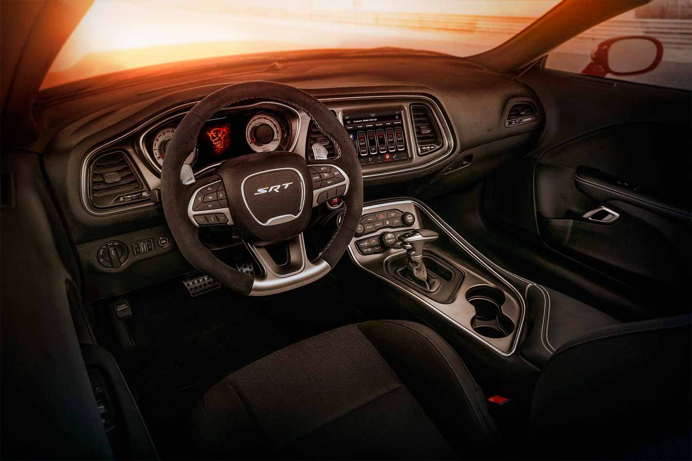 2018 Dodge Challenger SRT Demon interior