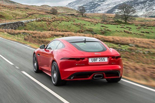 Jaguar F-Type four-cylinder rear