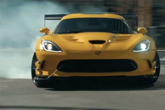 Dodge Viper last video drift