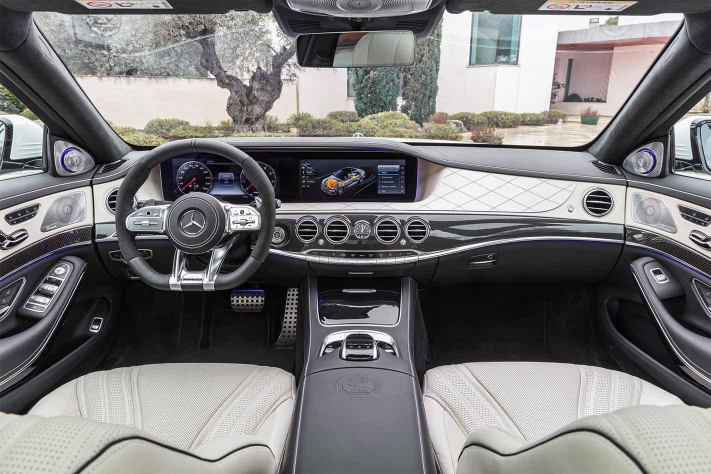 Shanghai Motor Show 2018 Mercedes Amg S63 Revealed Motor