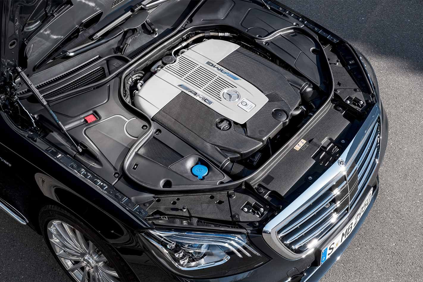 2018 Mercedes-AMG S65 engine