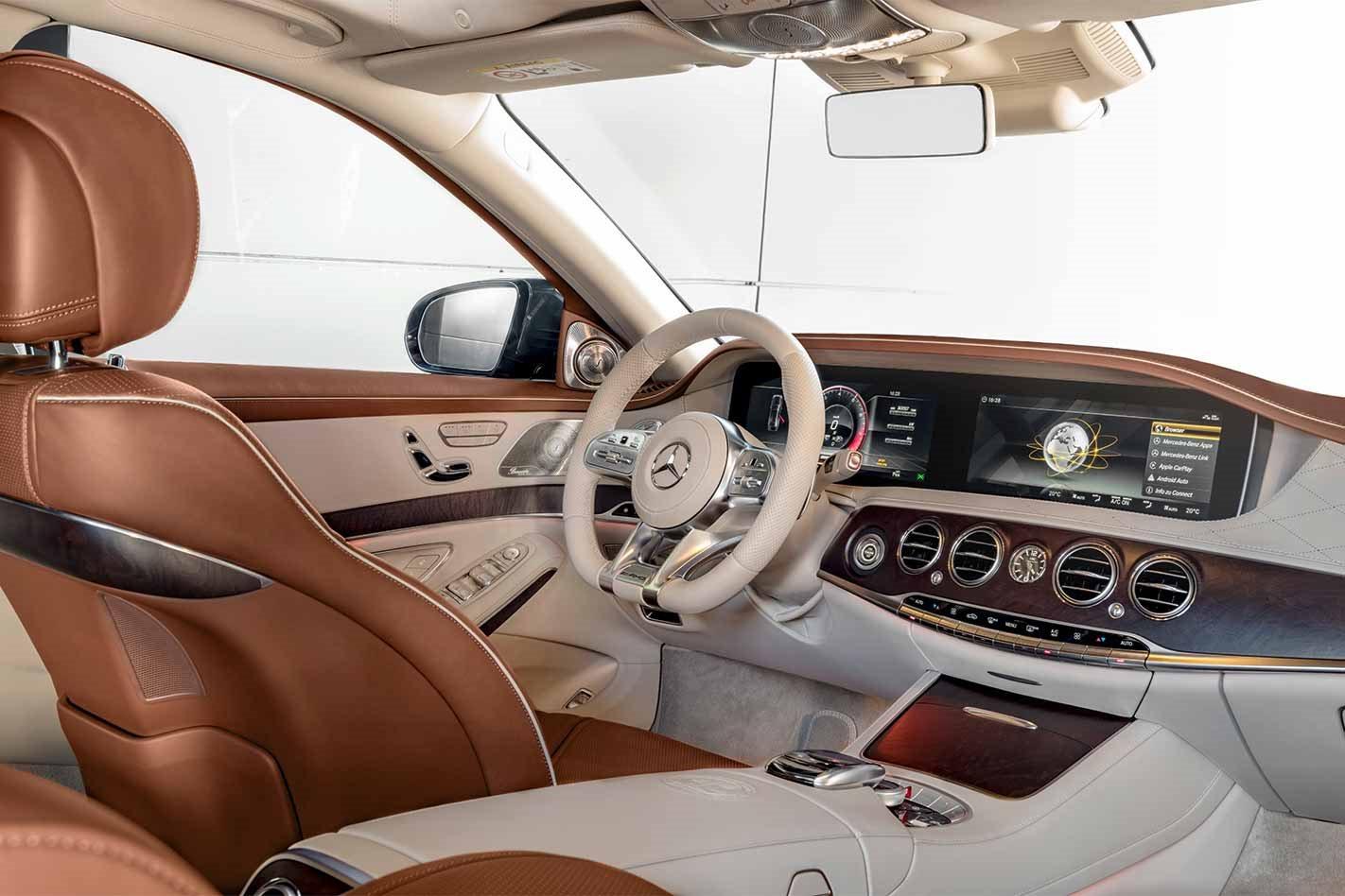 2018 Mercedes-AMG S65 interior
