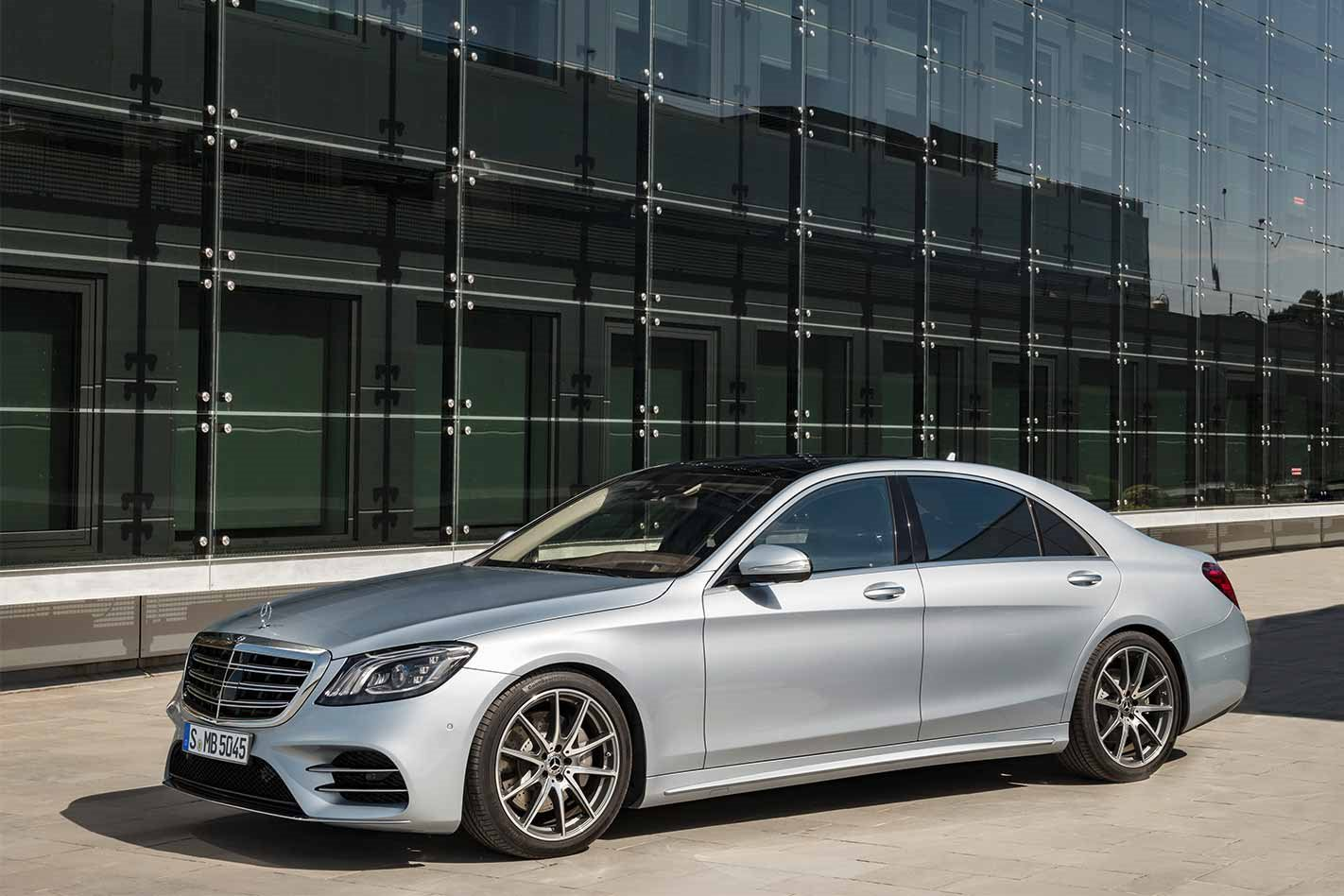 2018 Mercedes-Benz S-Class front static