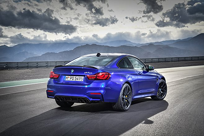 New BMW M4 CS Goes For A Spin