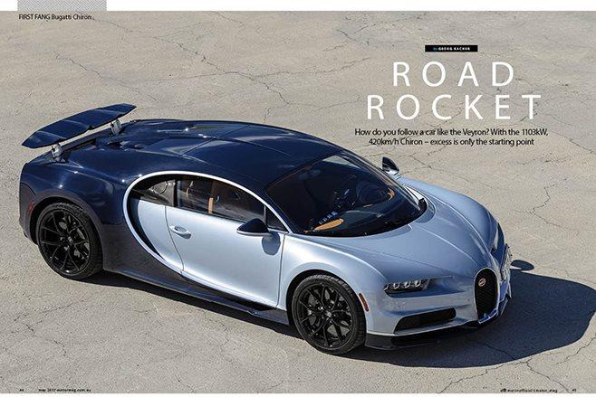 MOTOR Bugatti Chiron feature