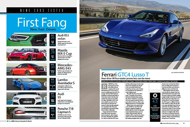 MOTOR First fangs may 2017