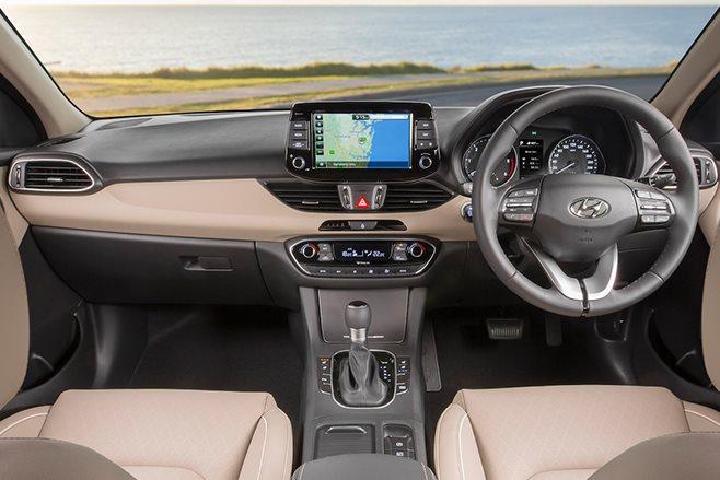 2017 Hyundai i30 SR interior