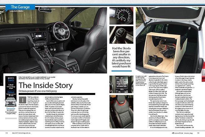 MOTOR Skoda Octavia RS230 update 2