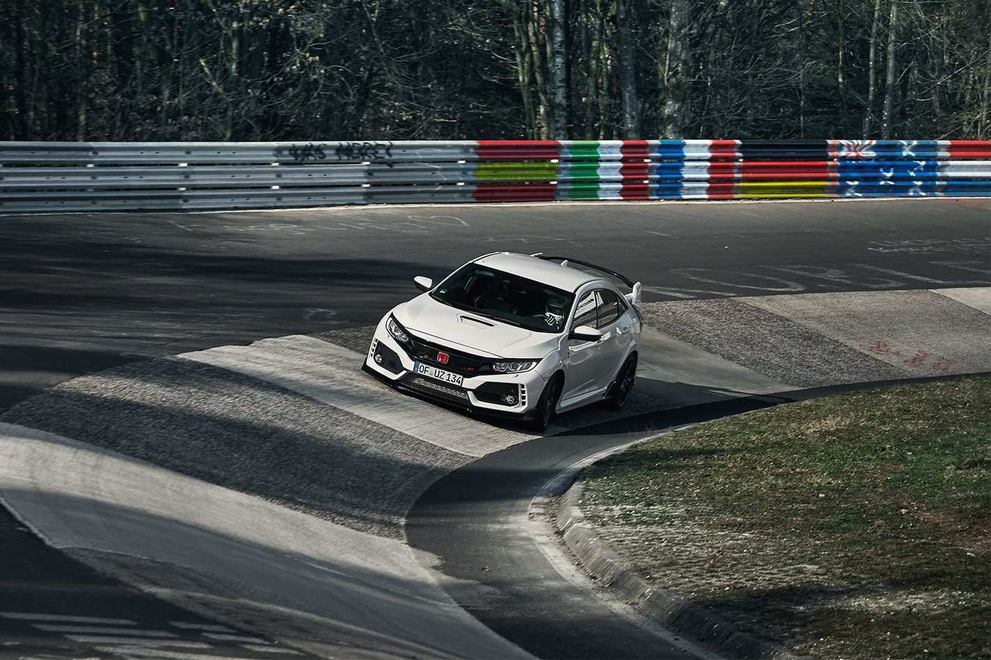 Honda Civic Type R Nurburgring Record 3