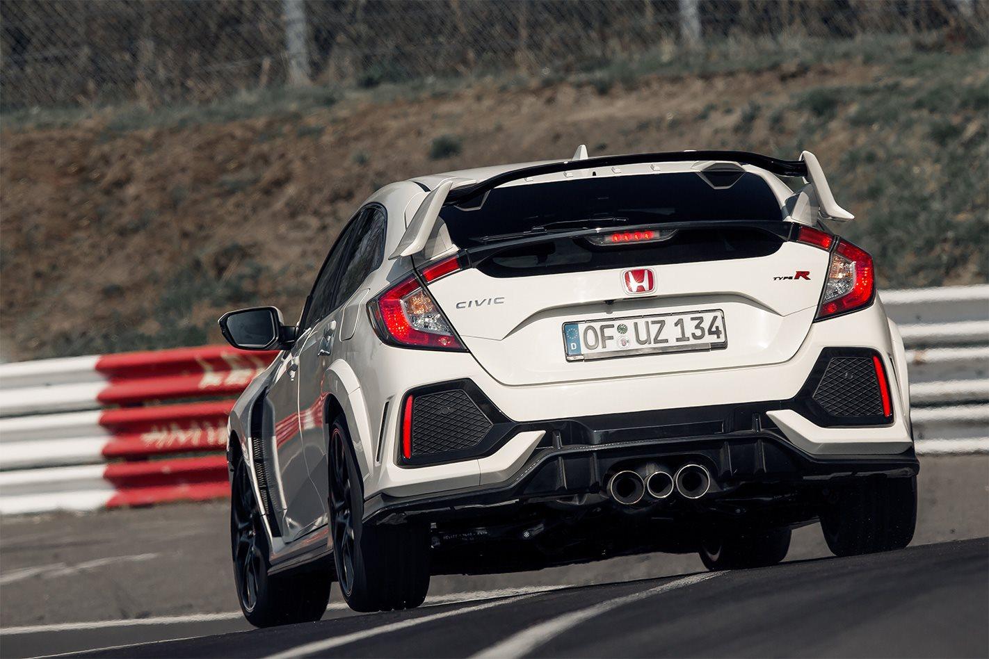 Honda Civic Type R Nurburgring Record 2