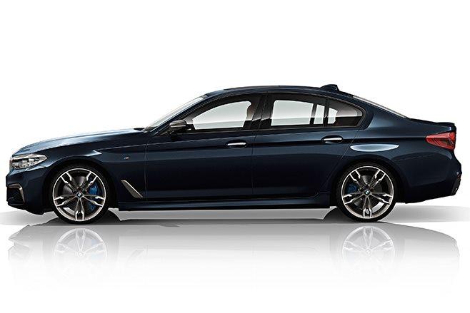 2018 BMW M550d xDrive side