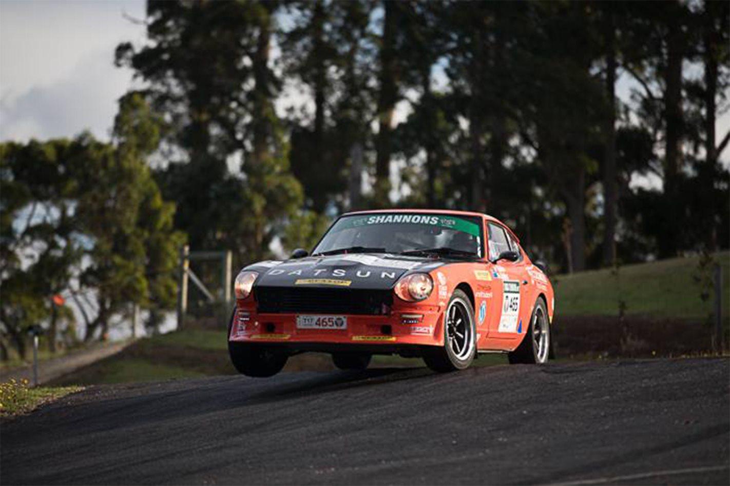 2017 Targa Tasmania Jon Siddins