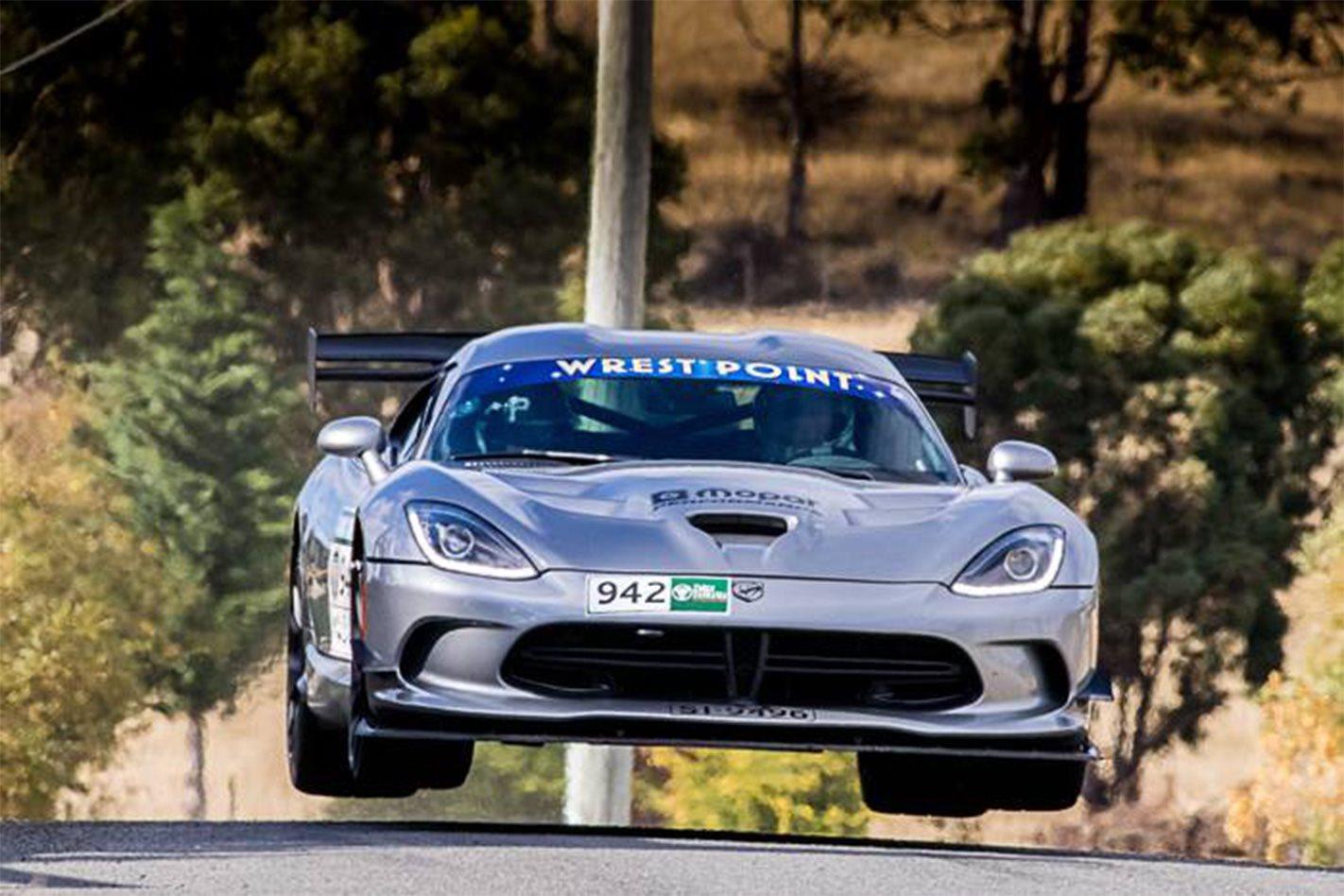 2017 Targa Tasmania Michael Pritchard