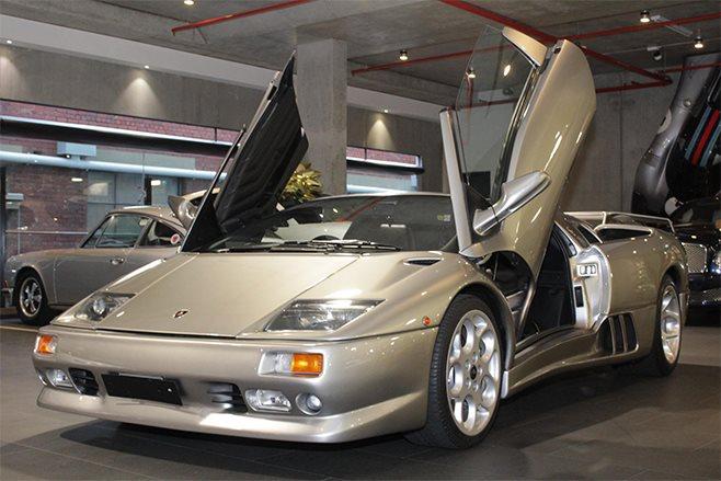 1999 Lamborghini Diablo SV Roadster