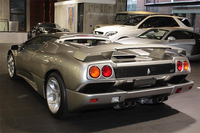 1999 Lamborghini Diablo SV Roadster RHD