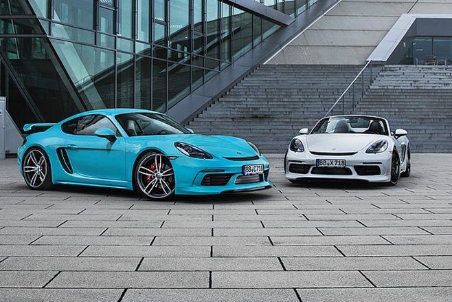 Techart Porsche 718 Cayman Boxter