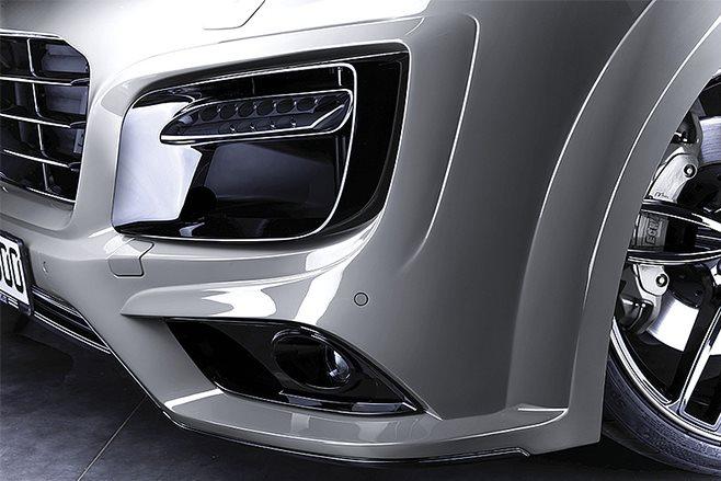 Techart Porsche Cayenne Magnum white