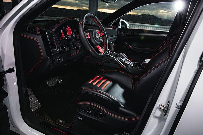 Techart Porsche Cayenne Magnum interior